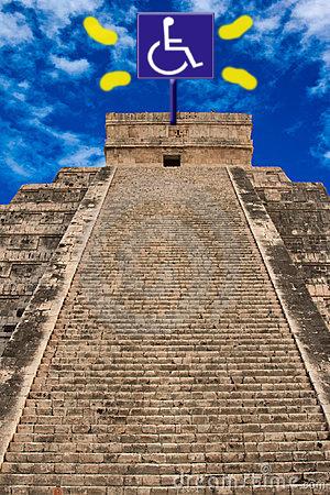pyramide maya access