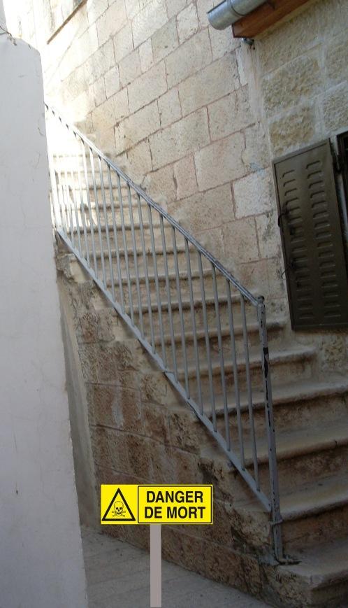 escalier de la mort